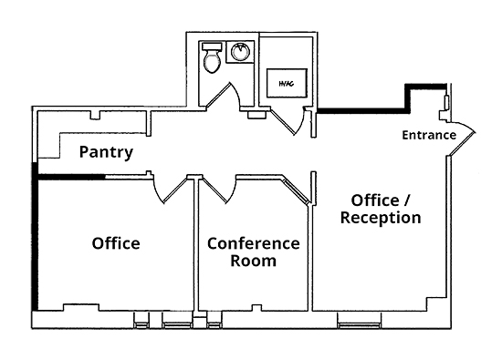 Floor Plan - 300 Madison Avenue